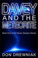 [Davey and the Meteorite book cover]