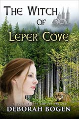 [The Witch of Leper Cove: a tale of 13th century England (The Aldinoch Chronicles Book 1) book cover]